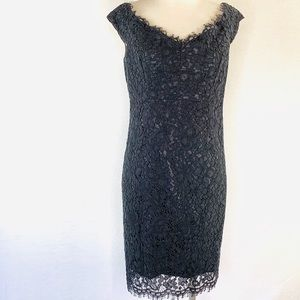 Bardot Lace Cocktail Dress LBD 8 New Without Tags